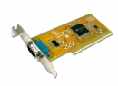 1 port RS-232 karta PCI High Speed Low Profile